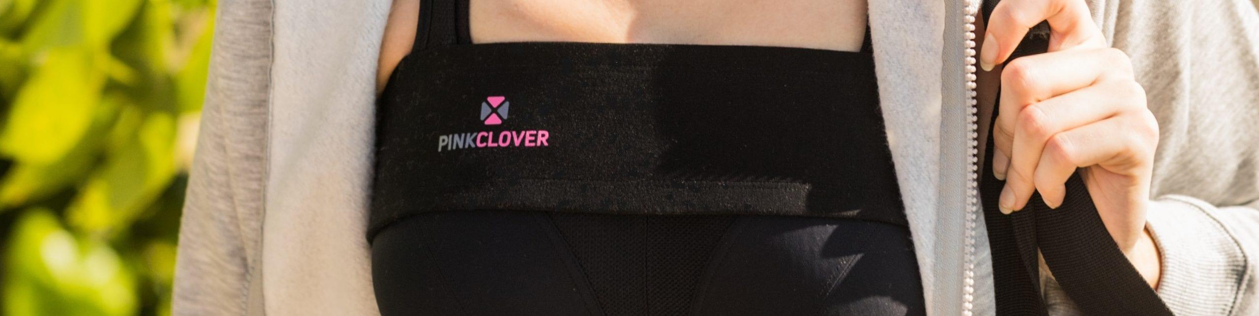 Pinkclover Breastband close up