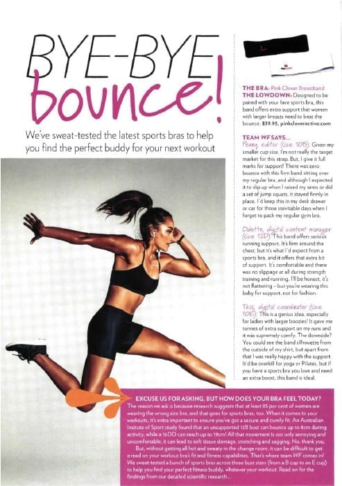 Women's Fitness Article
